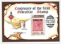 Gibraltar 1986 First Postage Stamps Miniature Sheet Fine Mint SG 539 Scott 490 Other European and British Commonwealth Stamps HERE! Buy Stamps, Great Hobbies, Commonwealth, Stamp Collecting, Postage Stamps, Miniatures, How To Apply, Mint, Stamp Dealers