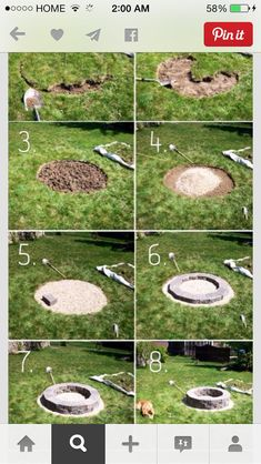 Amazing Fire Pit The Low Rider, DIY Fire Pits: Amazing DIY Outdoor Fire Pit Ideas You Must See - Decorextra Fire pits are a great addition to your garden. Take a look at these amazing DIY fire pit ideas! Diy Fire Pit, Fire Pit Backyard, Backyard Patio, How To Build A Fire Pit, Diy Patio, Gravel Patio, Building A Fire Pit, Backyard Seating, Modern Backyard