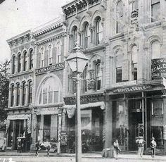 """Abram Kimmell's Music Depot at 613 Main St. (taken perhaps in the 1870s), had everything: pianos, instruments, sheet music (seen inside the windows), books and strings, with discounts for teachers. Kansas City's """"first documented music publisher,"""" the German-born composer wrote an opera, """"An Artist of Flanders""""; """"Bright Sparks"""" for young musicians; """"Willminnett,"""" a romantic piano piece, as well as waltzes, marches and polkas. His music publications from 1869 are the city's earliest music ..."""