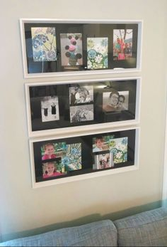 Create your own DIY photo collage with the NORRLIDA frame! Flip the backing board from black to white, or include KORT cards for a personal touch.