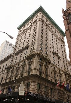 696-700 Fifth Avenue, Midtown Manhattan, New York City    The imposing neo-Italian Renaissance Gotham Hotel (now the Peninsula Hotel) is one of the few structures on Fifth Avenue which recalls the golden age of luxury hotels and the prominent place the A Sneak Peek Into The Millionaire Society!!