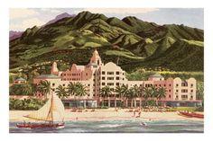 Royal Hawaiian Hotel, Hawaii