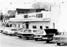 """Gouz Farm at 1717 Dutch Broadway in Elmont. """"Gouz rhymes with cows"""" was their tag line Back In Time, Back In The Day, Great Places, Places Ive Been, Hot Tub Time Machine, Home Nyc, Childhood Photos, Childhood Memories, Long Island Ny"""