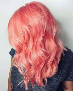 """894 Me gusta, 26 comentarios - @theprismatics en Instagram: """"@Regrann from @gingerlemonhair -  Peach coral peach !!! What are your favourite hairmoments and…"""""""