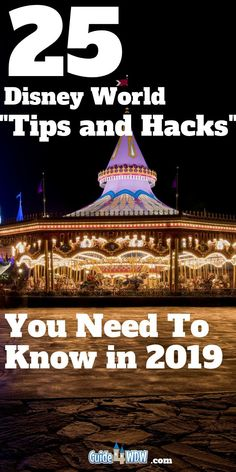 25 Disney World Hacks to Improve Your Vacation Experience by: C. 25 Disney World Hacks to Improve Your Vacation Experience by: Collin 25 Disney World Hacks to Improve Disney World Tips And Tricks, Disney Tips, Disney Magic, Disney World Hacks, Disney Disney, Disneyland Tips, Disney Travel, Disney World Secrets, Disney Worlds