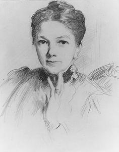 "John Singer Sargent (1856-1925), ""Mrs. Louis Ormond"" - The Metropolitan Museum of Art ~ New York, New York, USA"