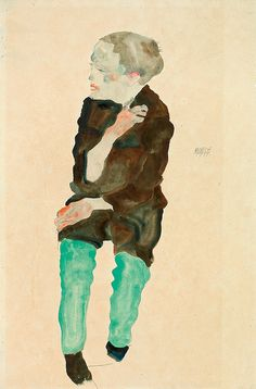 Egon Schiele Portrait of an Old Woman