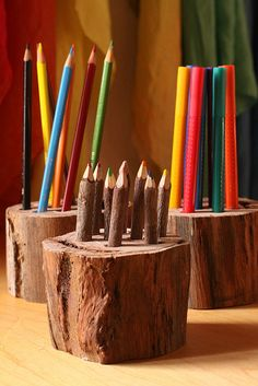 wonderful display of art materials