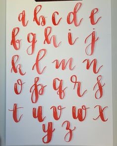 ordershewrotenyc.com alphabet card calligraphy alphabet, modern calligraphy