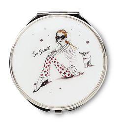 "So Sweet  2.75"" Compact Mirror  $16.00"