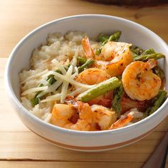 This speedy method of cooking risotto works every time! —Kim Gray, Davie, Florida