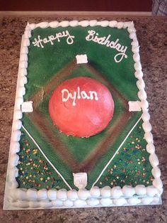 Kickball Cake