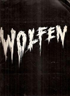 Original Wolfen Movie Press Kit 1981 Orion Pictures Albert Finney Werewolves