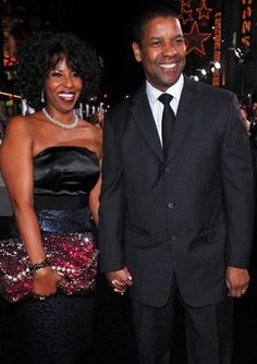 Denzel and Paula Washington married 29 years! Still together and strong.