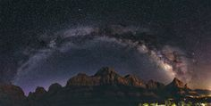 "Joshua Oakley on Twitter: ""Milky Way Over The Watchman – Zion National Park js https://t.co/q5ZoWMtbbb https://t.co/vayNV7nKnK https://t.co/T3vIsZSes7"""