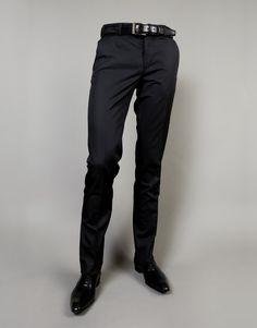 Pantalon costume noir pour homme - Henrique Enko