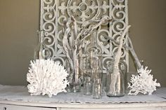 Salvage Dior: Rubber Door Mat Wall Art {DIY} who knew?  Rubber door mat made to look like metal wall art