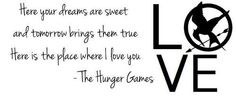 The Hunger Games. Love.