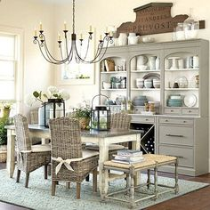 This post gives simple and easy to follow ideas for how to update a hutch or bookcase. It also shares before & after photos and how to paint a hutch.