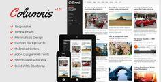 5 New Creative Magazine and News WordPress Themes.