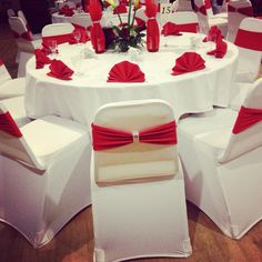 Red wedding decorations