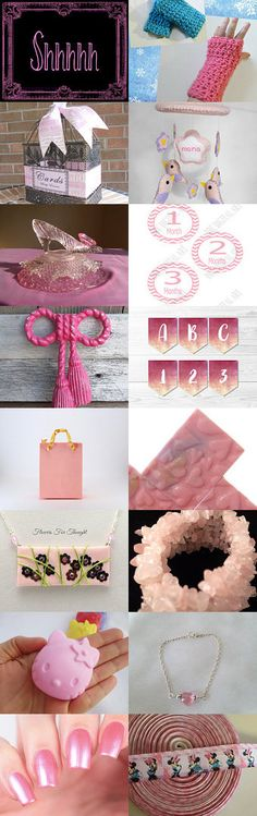 All things PINK by Rachel on Etsy--Pinned+with+TreasuryPin.com
