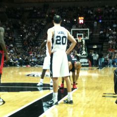 Sit courtside at a Spurs game-done!