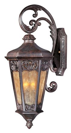 Maxim 40174NS Tuscan Three Light Up Lighting Medium Outdoor Wall Sconce from the Lexington VX Collection