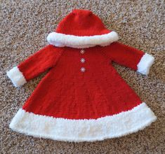 Knitting Pattern for Santa's Christmas Cutie