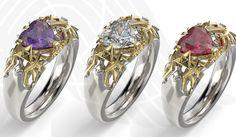 #zelda #game #zeldaring #zeldanation #gift #geek #silverring #wedding #zeldaheartring  Free shipping @ Michaelmjewelry.com