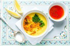 Türkische Hühnersuppe mit Joghurt und Paprika-Minz-Butter