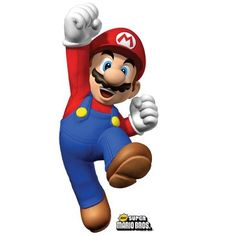 Mario stand-up character #videogameparty