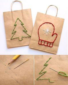 Envolturas originales para tus regalos de Navidad - Dale Detalles