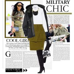 Street style: military chic!