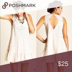 UMGEE USA Sleeveless Dress with Lace Detail UMGEE USA Sleeveless Dress with Lace Detail | cutout on the back | dress is lined UMGEE USA Dresses Mini