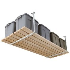 Hyloft Adjustable Ceiling Kit, White. Garage Ceiling StorageGarage ...