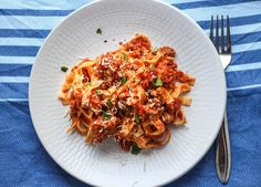 Fettuccine with Pork, Fennel and Chilli