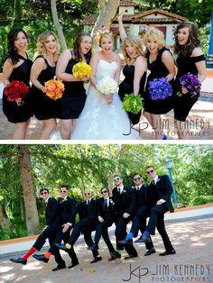 Damas y padrinos de boda