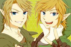 Twilight Link, Sky Link.