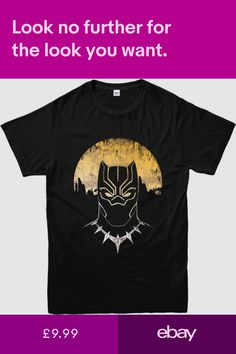 c5335e2f0f55 T-Shirts Clothes, Shoes & Accessories #ebay Black Panther T Shirt,