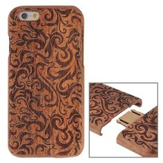Detachable Rosewood Case For iPhone 6 & Grass Pattern, Iphone 6, Iphone Cases, Wooden Hearts, Products, I Phone Cases, Iphone Case, Gadget