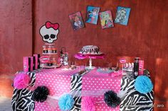 Monster High Birthday Party Ideas | Photo 1 of 45