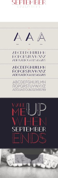 Free Font Of The Day : September