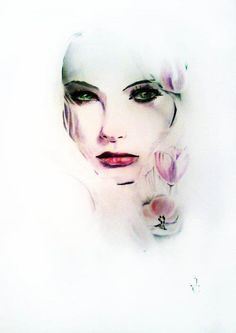 Donna D... you are making me want to draw faces.... great pins!!!   weheartit.com