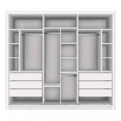 Wardrobe Interior Design, Wardrobe Design Bedroom, Walk In Closet Small, Small Closets, Bedroom Cupboard Designs, Bedroom Cupboards, Closet Renovation, Dressing Room Design, Modern Closet