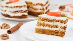 Carrot Cake with Cream Cheese Frosting Cream Cheese Icing, Cake With Cream Cheese, Baking Cupcakes, Cupcake Cakes, Cake Recipes, Dessert Recipes, Moist Cakes, Food Cakes, Carrot Cake