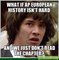 What if Ap European History isn't hard