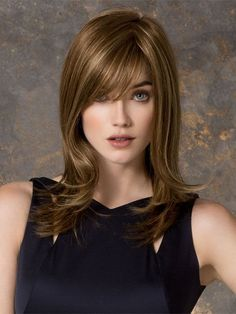 Wigsis Offers latest Cool Blonde Monofilament Synthetic Long Wigs for customer. You can find suitable long hair wigs or other fashion wigs including long blonde wigs here with fast shipping. Haircuts For Long Hair, Long Hair Cuts, Straight Hairstyles, Modern Hairstyles, Medium Hair Styles, Natural Hair Styles, Short Hair Styles, Brown Straight Hair, Best Human Hair Wigs