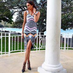 Lauren Vickers in the Copacabana Dress