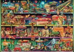 Puzzle Mundo maravilloso de los juguetes ( Ref:  0000059376 )